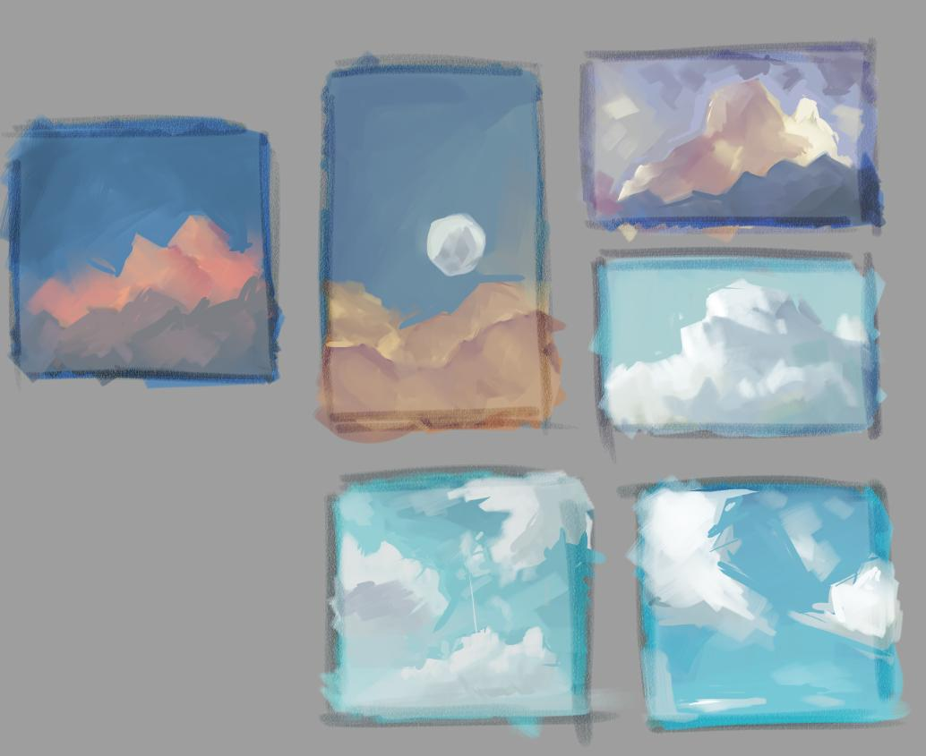 Cloud studies! was learning more about cutting, very important part which I was missing  <br>http://pic.twitter.com/nMr2cJ8k9Q