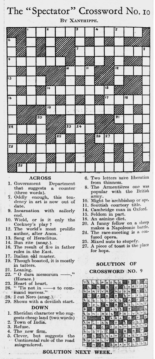 Jesse Sheidlower On Twitter This Astonishing Crossword Clue And The Detailed Oed Note Explaining It Doesn T Make Me Feel Terribly Confident About How Smart I Am Https T Co Tys1c3tnto