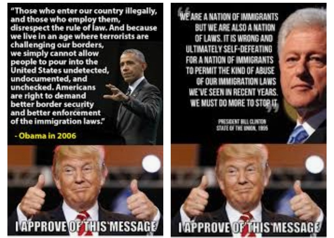 #LiberalHypocrisy #Hypocrites  #DemocratsAreCorrupt #ObamaKnew  #DemocratsAreDestroyingAmerica #BorderCrisis #BorderSecurity #BuildTheWall  #PromisesMadePromisesKept #PaintOurCountryRed #TrumpRallyOrlando #Trump2020 #MAGA2KAG #KAG45 #KAG2020