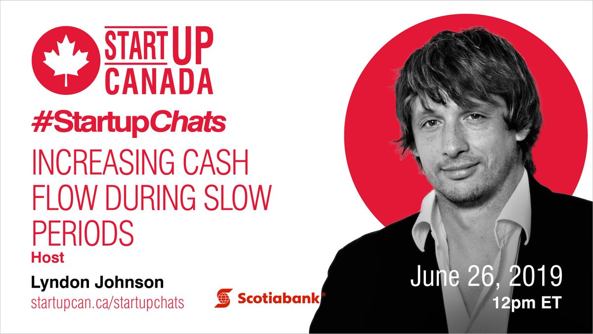 How can slow periods affect a businesses' cash flow and what can be done to minimize the impact? Join us for #StartupChats on June 26th to get all the answers. Register now to join the conversation: http://ow.ly/MjvZ30nQCte #cashflow #payroll #finance
