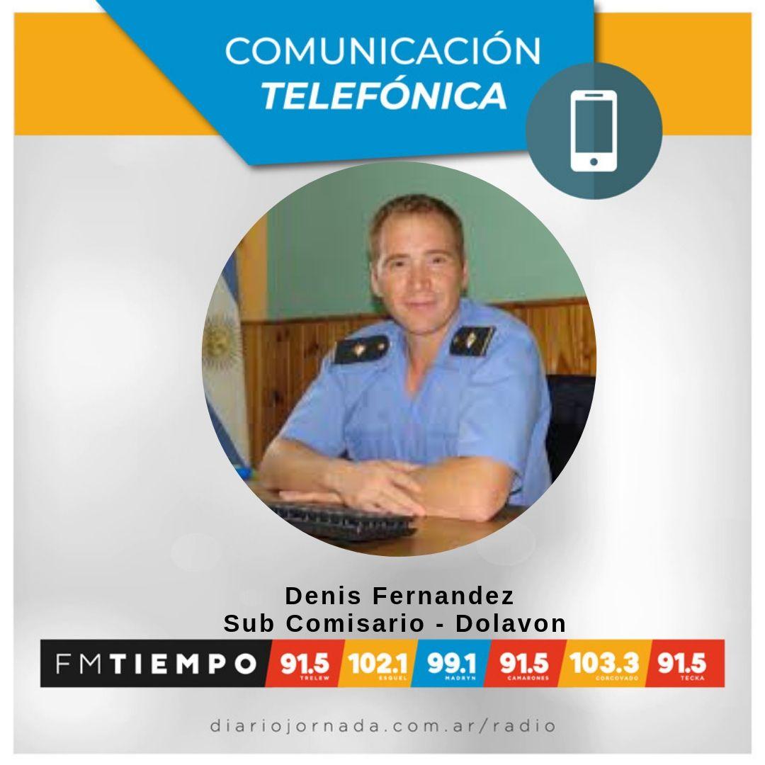 🔴 #AHORA 🔴 En #EsaTeLaDebo  📞 Hablamos con el Sub Comisario de #Dolavon Denis Fernandez |  En vivo en: http://diariojornada.com.ar