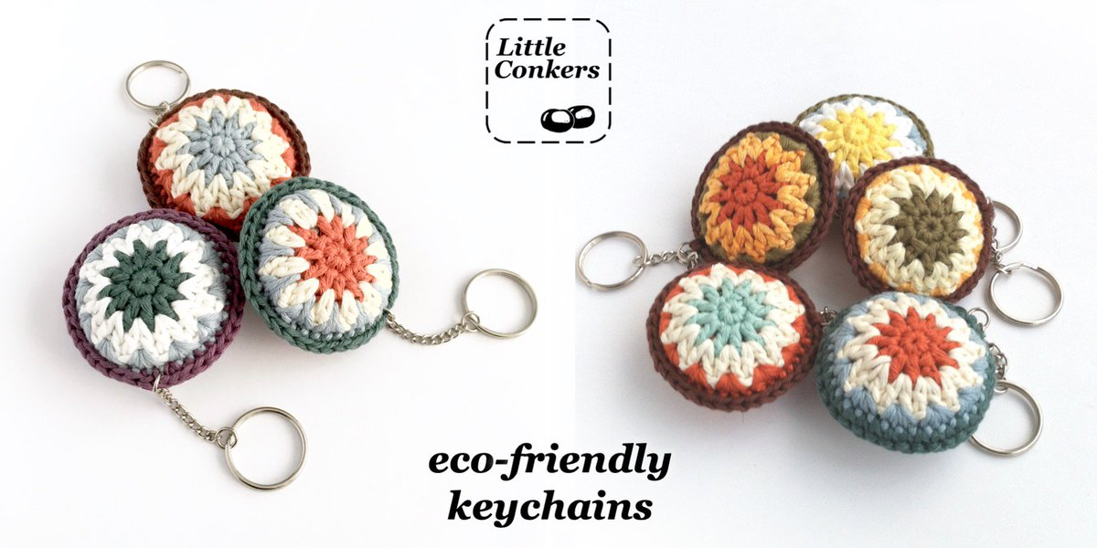 Eco-friendly keychains / bag charms, great little gifts for any occasion or none!  http://etsy.me/2ek6Yx7