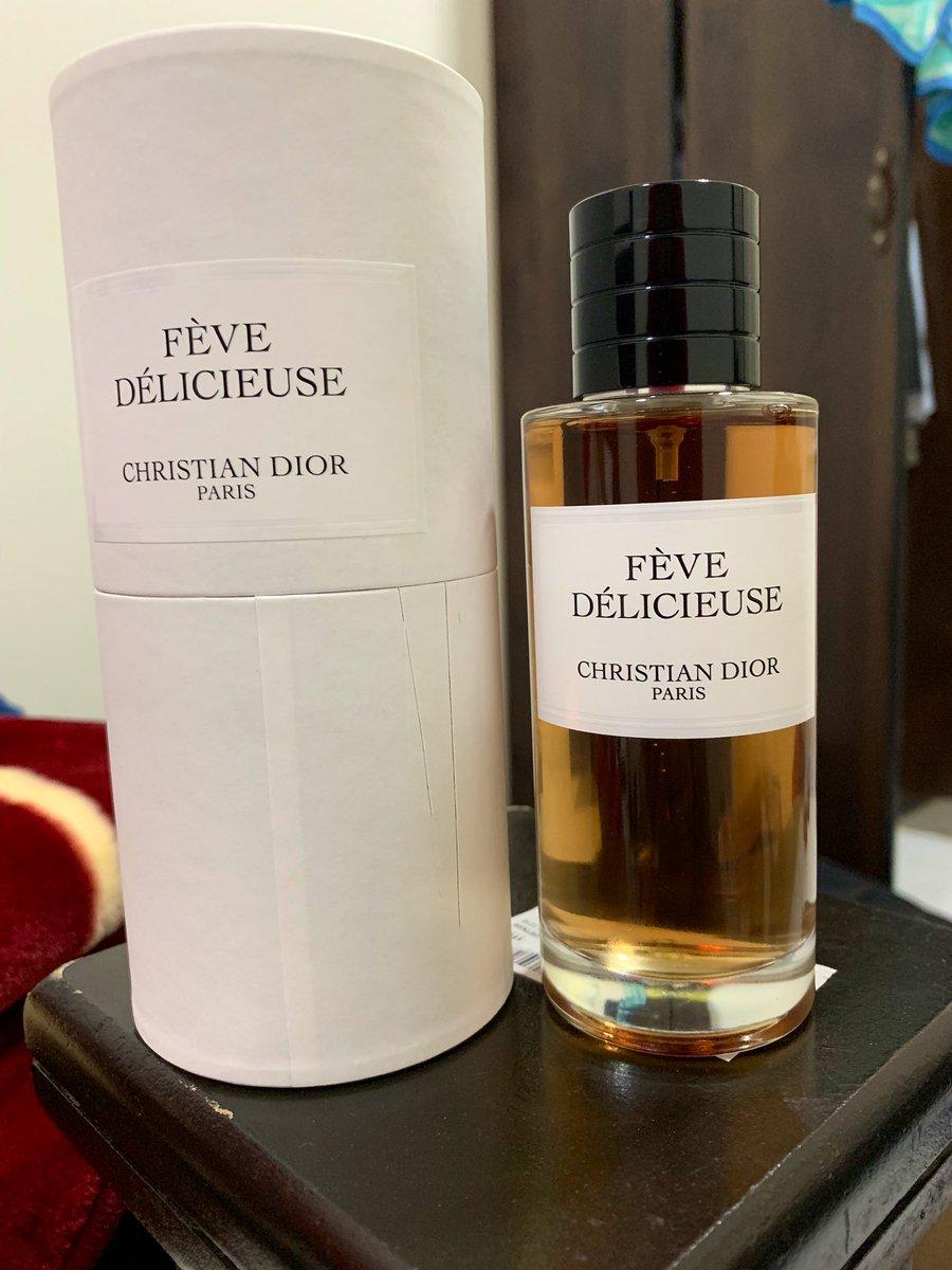 2a66354dd في بعض العطور لو ينفع تتشرب هاشربها من جمالها عطر Fève Délicieuse Dior في  رأي افضل