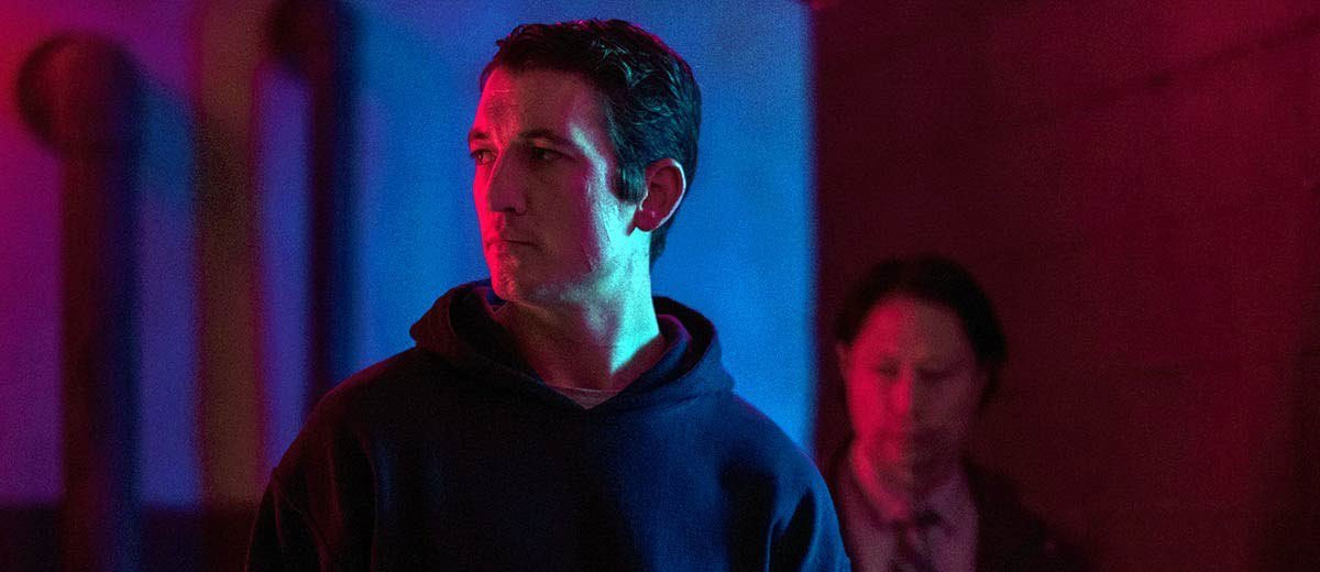Miles Teller in Too Old to Die Young.