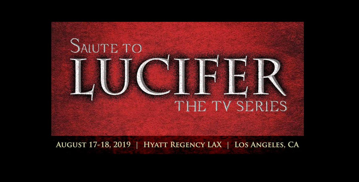 Calling all #LuciFans! Were bringing #LuciCon to the city of angels August 17 -18 with @tomellis17 and more of your favorites for a weekend full of #Lucifer fandom and fun! Get your tickets now: bit.ly/LuciConLA