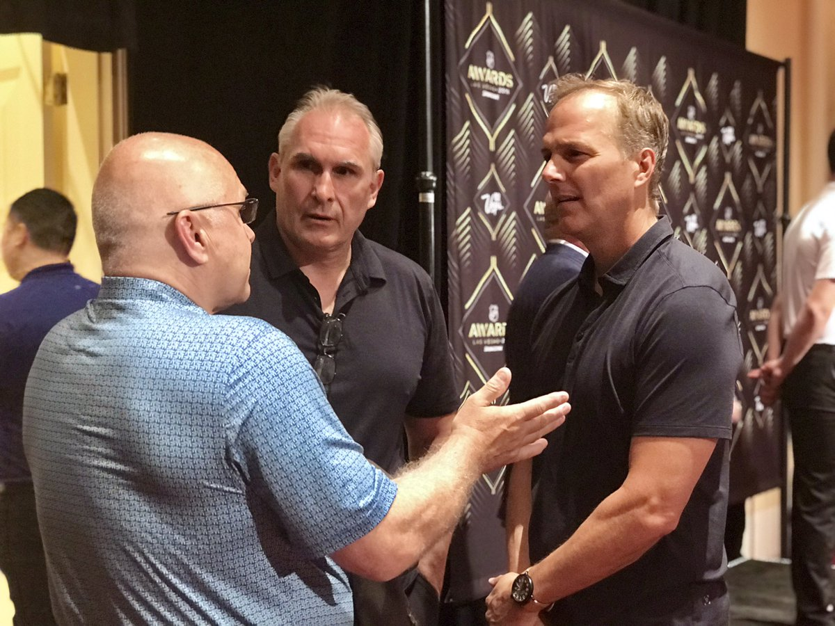 There's a lot of hockey knowledge in this group. #NHLAwards