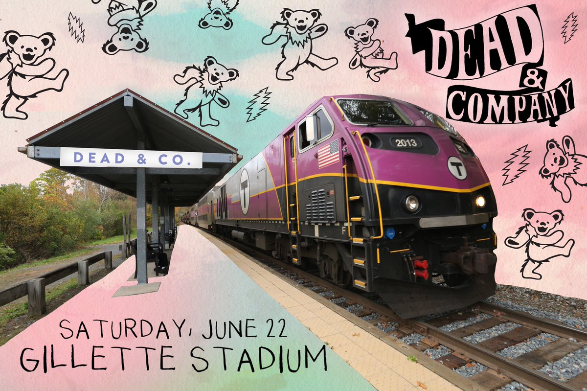 Jams are for bands. Not traffic.  Take the @MBTA event train to see @deadandcompany this Saturday! Get your tix before they're gone: http://bit.ly/DeadCoInfo