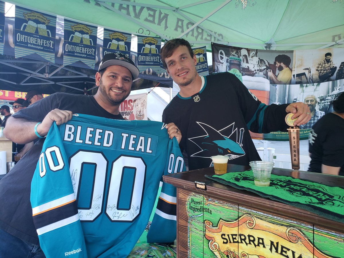 Thanks to Justin Braun for all your years in teal! (and for the beer that one time) #SJSharks #SharksTerritory #BleedTeal #SharksForLife #NHL<br>http://pic.twitter.com/NOVHzdeGCv