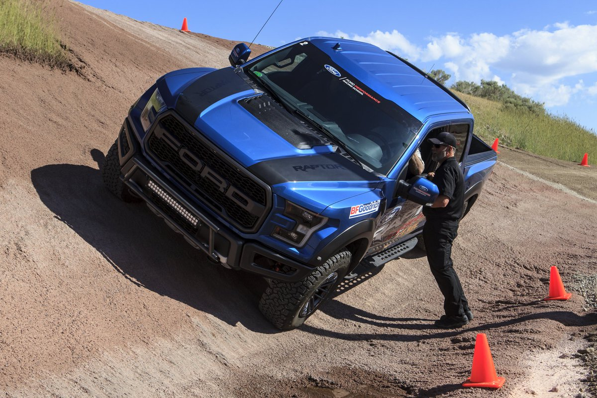 Would you try this 30° wall ride at Raptor Assault?  #builtonbfg <br>http://pic.twitter.com/lbs4jNmBg8 – à Ford Performance Racing School