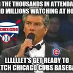 Go #Chicagocubs Go!! #cubsessed #Iamcubsessed #Cubs #redlineseries #cubsvssox