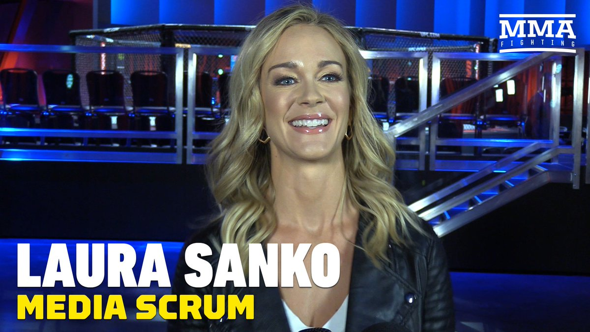 VIDEO: Laura Sanko would love to see Invicta fights at new UFC Apex facility https://youtu.be/Bs3fYzf8jyo