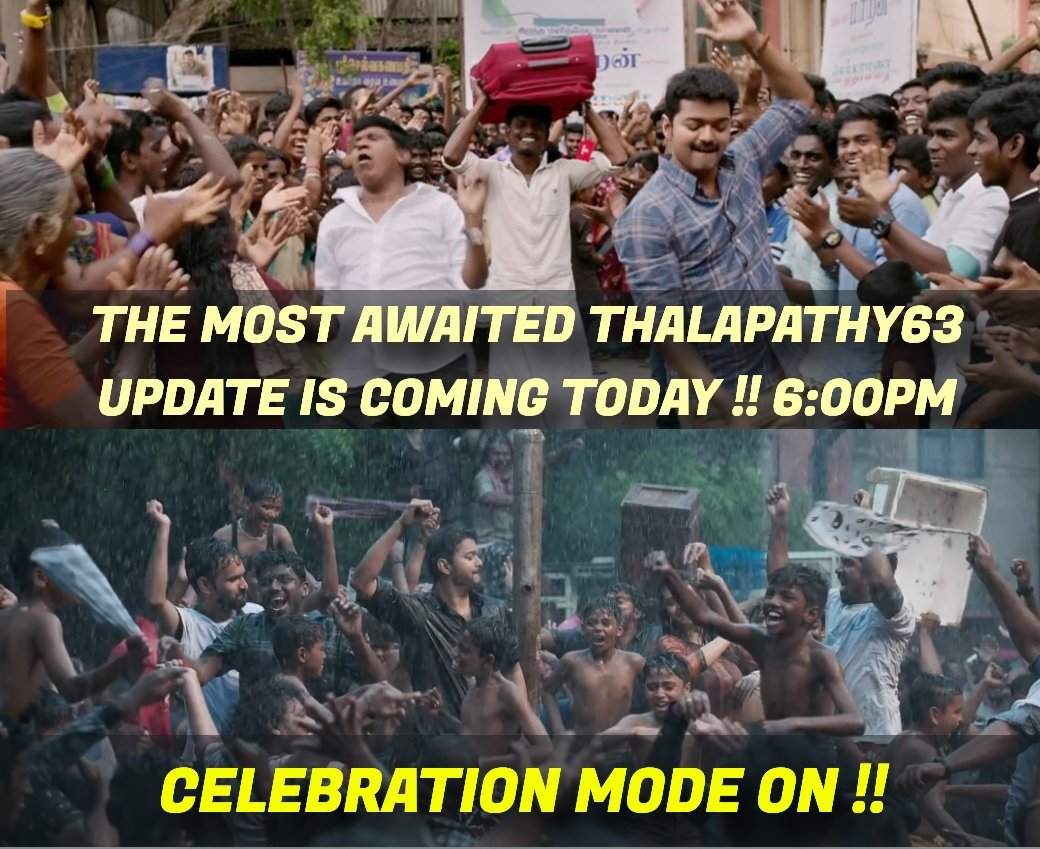 Few Hours To Go !!   #Thalapathy63updateday <br>http://pic.twitter.com/WuCxLDmcy2