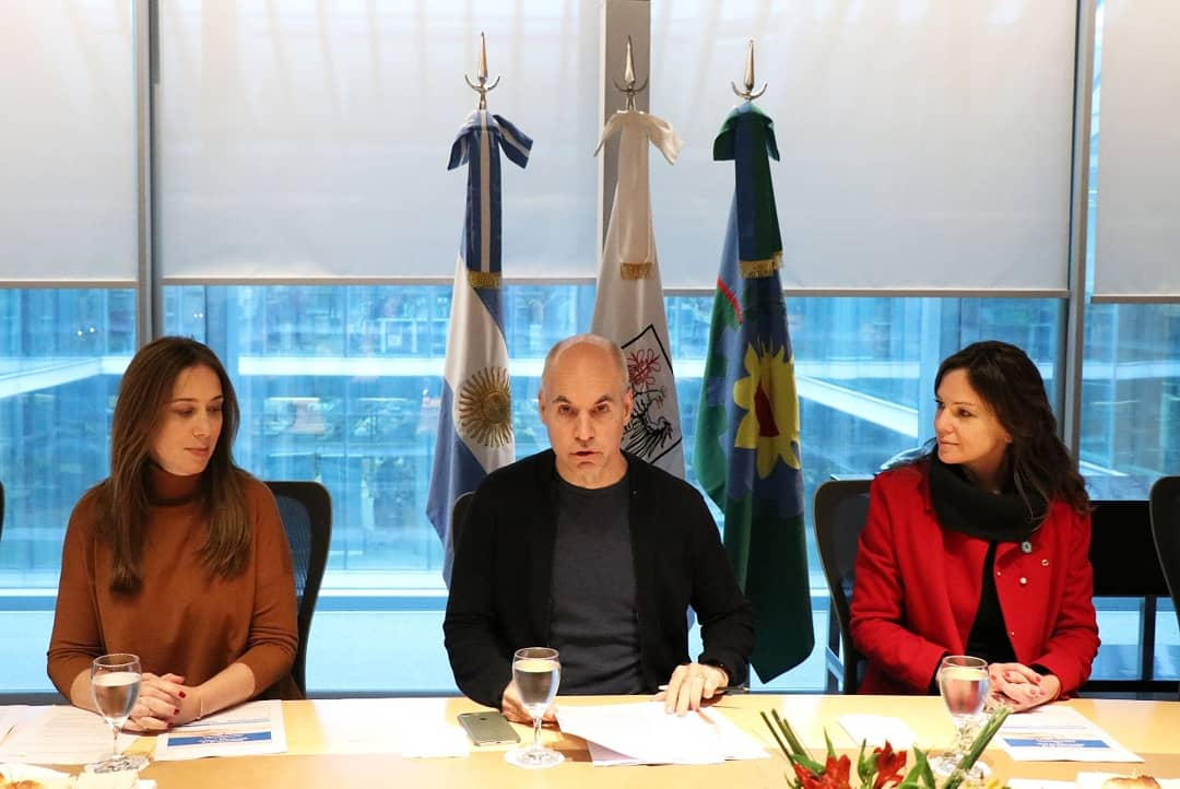 Hoy con @horaciorlarreta y @mariuvidal anunciamos el número más bajo en la historia y de la región de las tasas de mortalidad infantil en la Ciudad y en la Provincia de Buenos Aires.