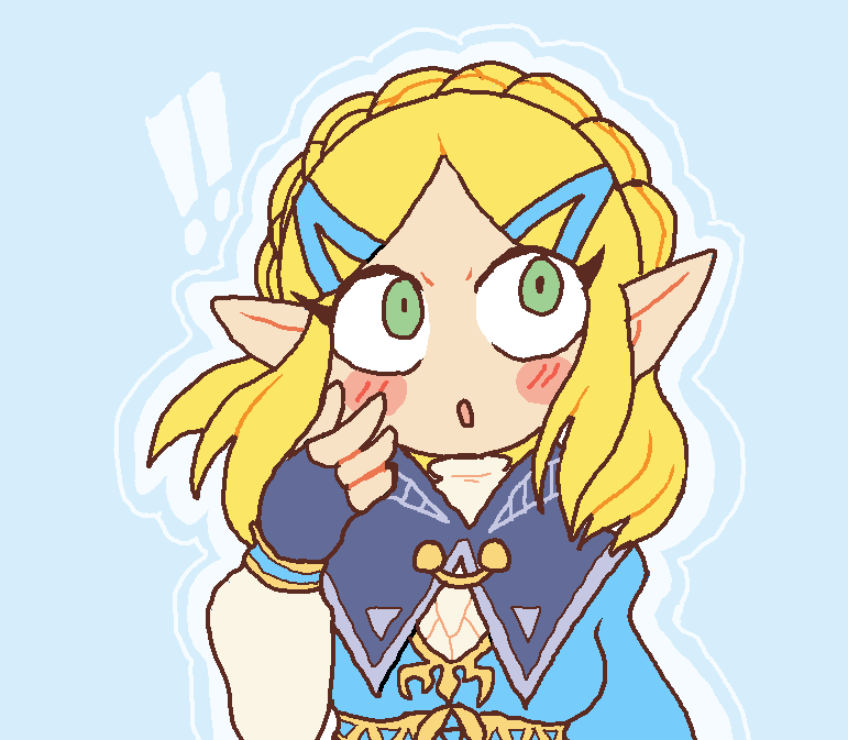 i tried to draw short-haired zelda in ms paint, it was nostalgic <br>http://pic.twitter.com/4zlOvqEUAv