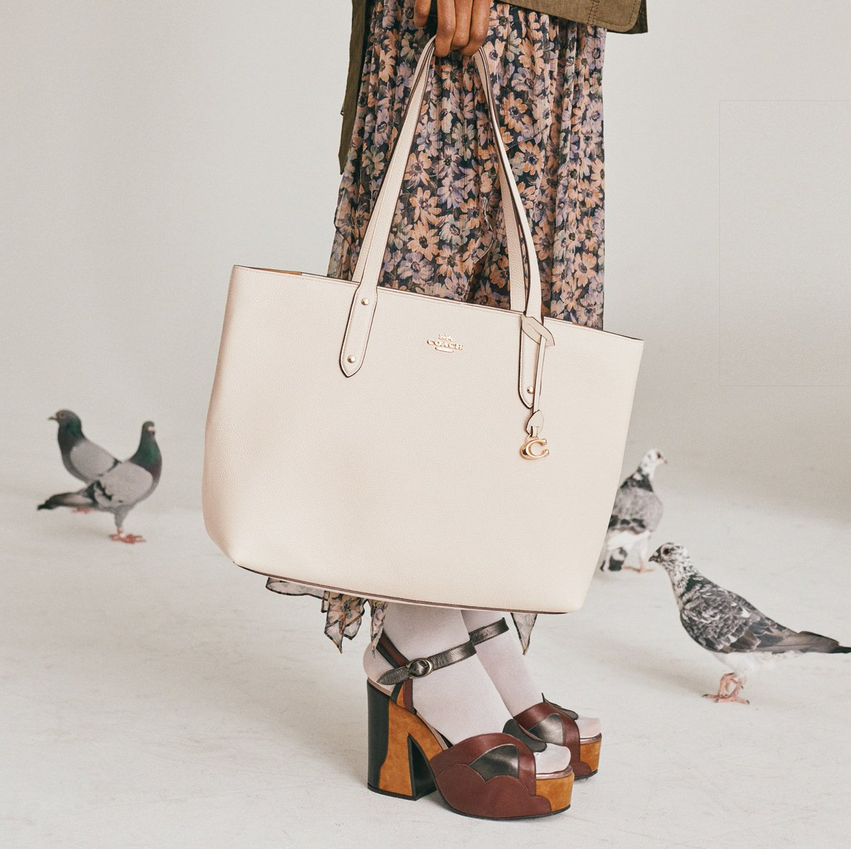Ready, set, go. Make the Central Tote central to your summer look. http://on.coach.com/ShopTotes #CoachNY