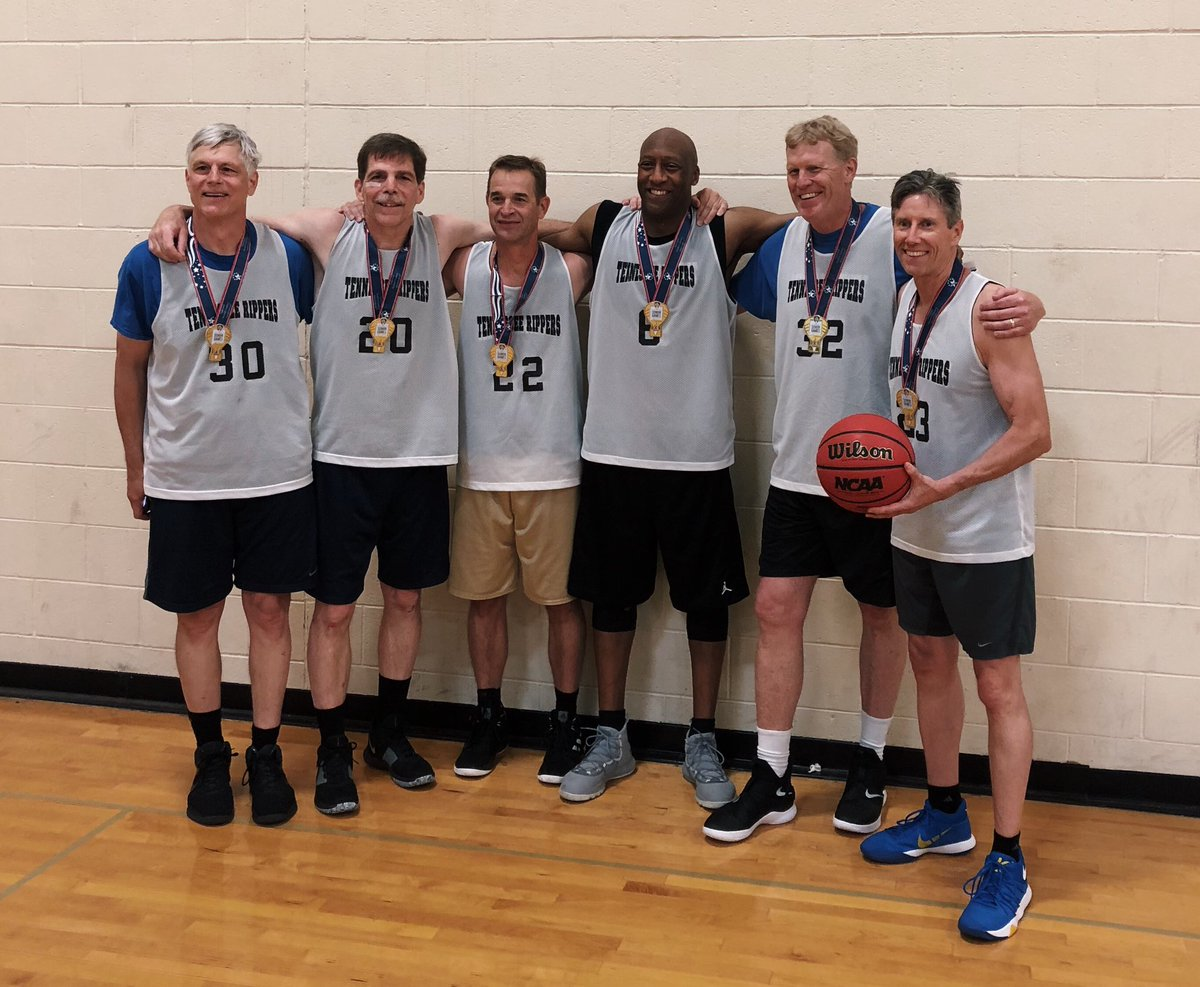 Winning never gets old, even when you are old!  Especially when it's with your buddies! #NationalSeniorOlympics  #DefenseWinsGames<br>http://pic.twitter.com/FQrxkqlA6j