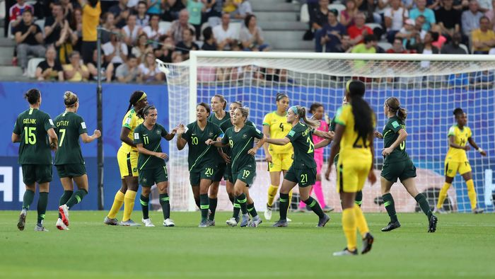 indeed.. echoing what Kevin @MrKRudd said:  A big congratulations to @TheMatildas on their win over Jamaica. 4-1, what an effort!  Now onto the knock-outs https://t.co/C7AZTnI4cv