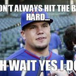 Yes you do #SchwarBomb Yes you do  #ThatsCub #CubTalk #EverybodyIn #IamCubsessed #Cubs #AuthenticFan #OwnItNow #GoCubsGo #CrossTownClassic @NBCSCubs @kschwarb12