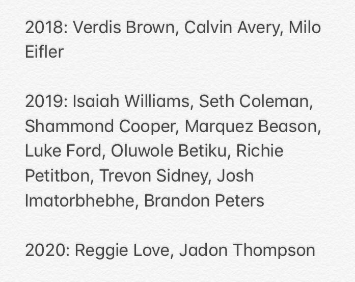 I have no idea if it will work on the field, but there's no question that Lovie Smith has added talent to the #Illini roster.  Brandon Peters' commitment makes it 15 4-star or 5-star additions since 2018.   From 2010 to 2017, Illinois only landed four 4-star or 5-star prospects. <br>http://pic.twitter.com/p4AtsUVWjk