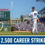 Congratulations to @ColeHamels on career strikeout No. 2,500!