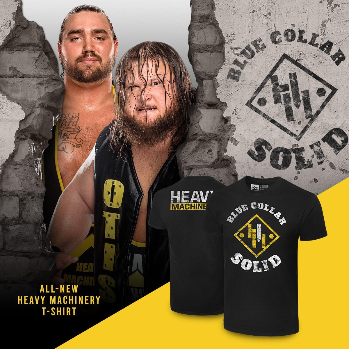 @WWEShop's photo on Heavy Machinery