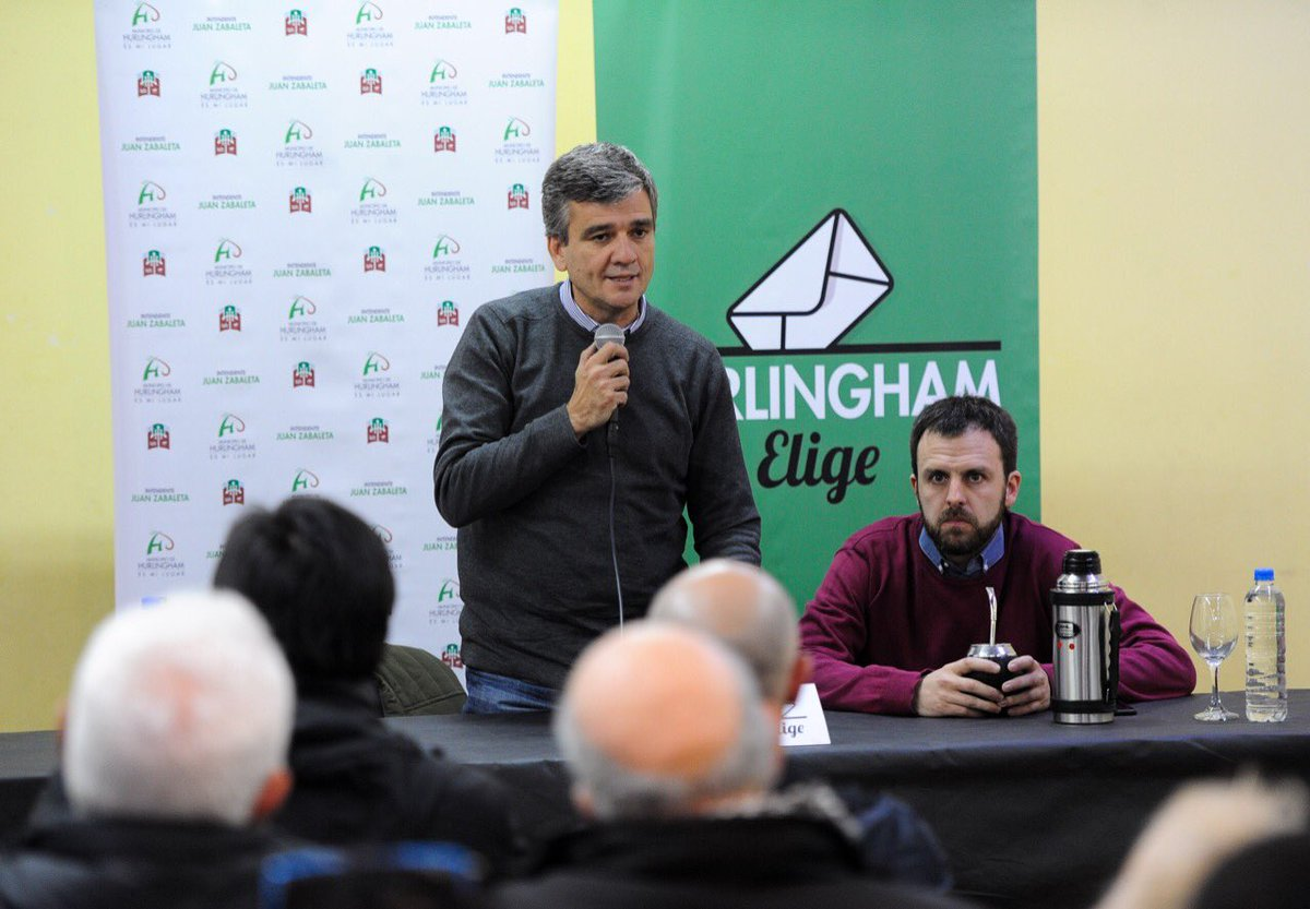 Hoy junto a @JuanZabaletaOK presentamos #HurlinghamElige   Una iniciativa del estado municipal para abordar la dimensión local de las elecciones.   Queremos hacer un aporte a la ciudadanía mediante tres acciones concretas: