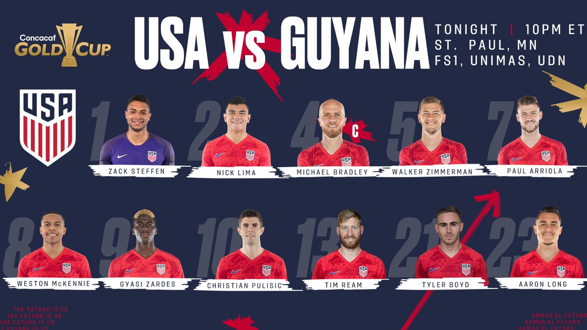 @USMNT's photo on Guyana