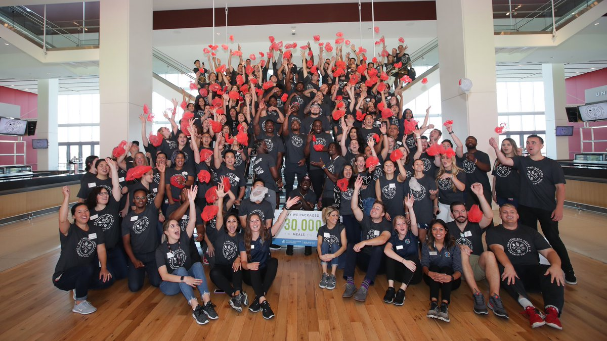 As the @49ers staff completes its 6th Annual Community Day, benefiting Feeding Children Everywhere, I'm proud to be part of a team of people who selflessly embody our organizational philosophy of giving back. Thanks to all the staff & rookies who contributed. #49ersHuddleFor100