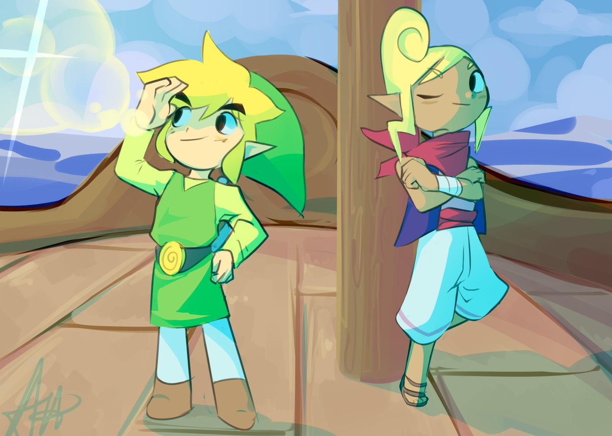 i never posted this here oops  was usin windwaker for some practice <br>http://pic.twitter.com/a6gBgCPDqf