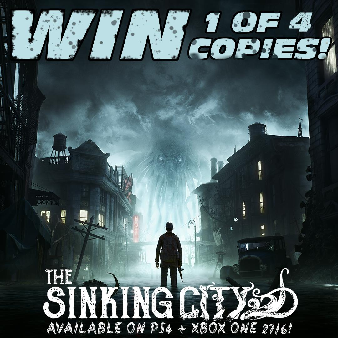8d0995b53f9 To celebrate the launch of Sinking City, we are giving away four copies of  the game! Pre-Order here: http://bit.ly/2MNoj69 Head to our Facebook page  to ...