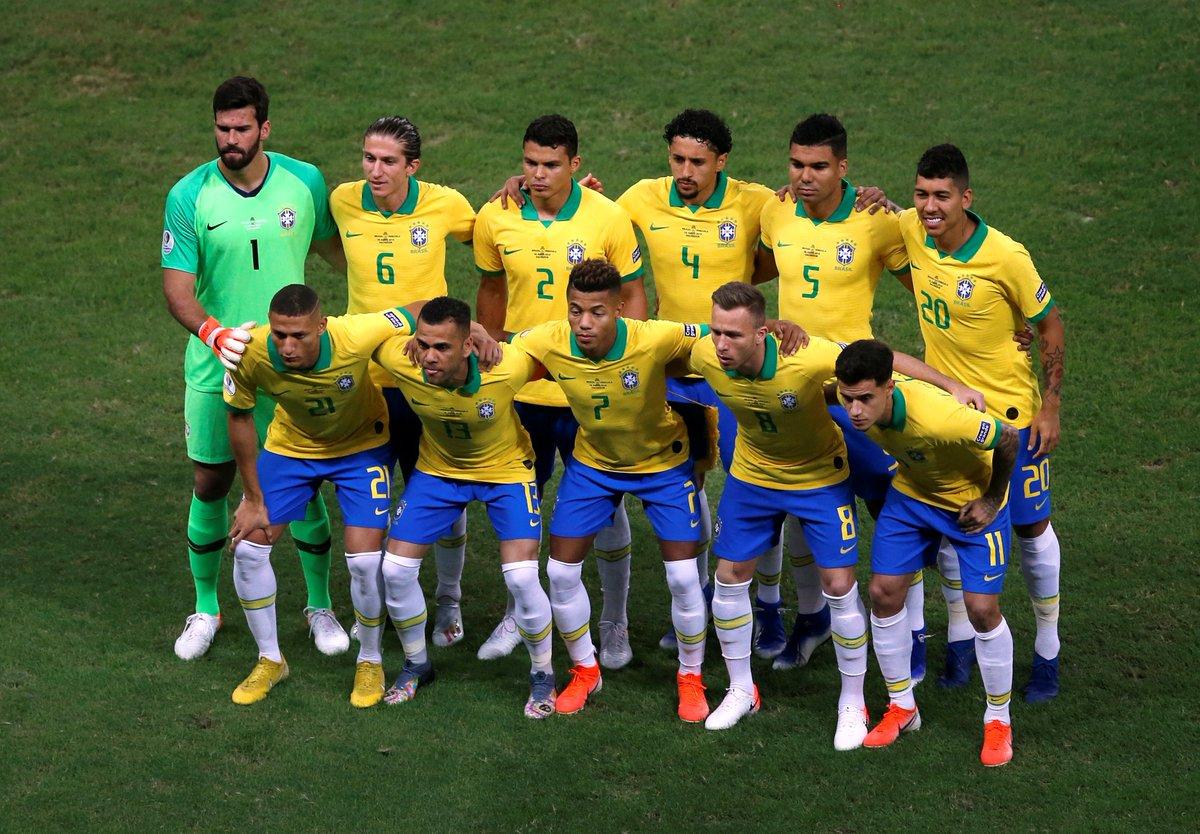 КА. Бразилия - Венесуэла 0:0. Фирмино, Жезус и Коутиньо забили по голу - но все они были отменены арбитром - изображение 1
