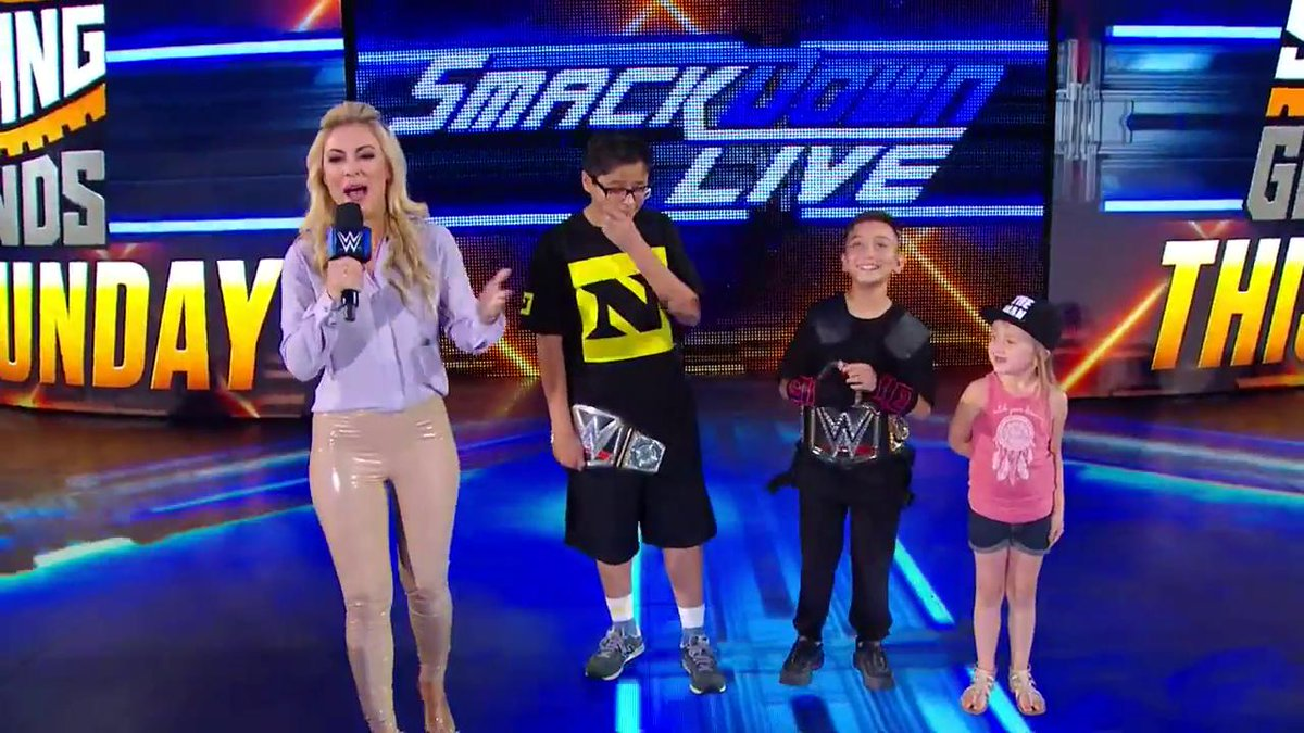 EXCLUSIVE: Which of these fans in attendance at #SDLive does the best Superstar impersonation?