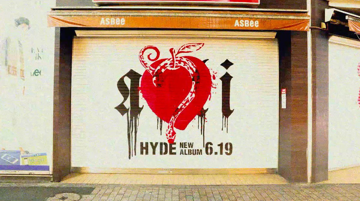 NOW ON SALE!  https://umj.lnk.to/hyde_antiTW   #HYDE #NewAlbum #ANTI #HydeTakingOverTokyo  https://youtu.be/zEZzw9j76Gs
