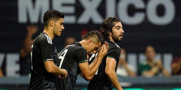 México venció 3-1 a Canadá Copa Oro Fase de Grupos 2019