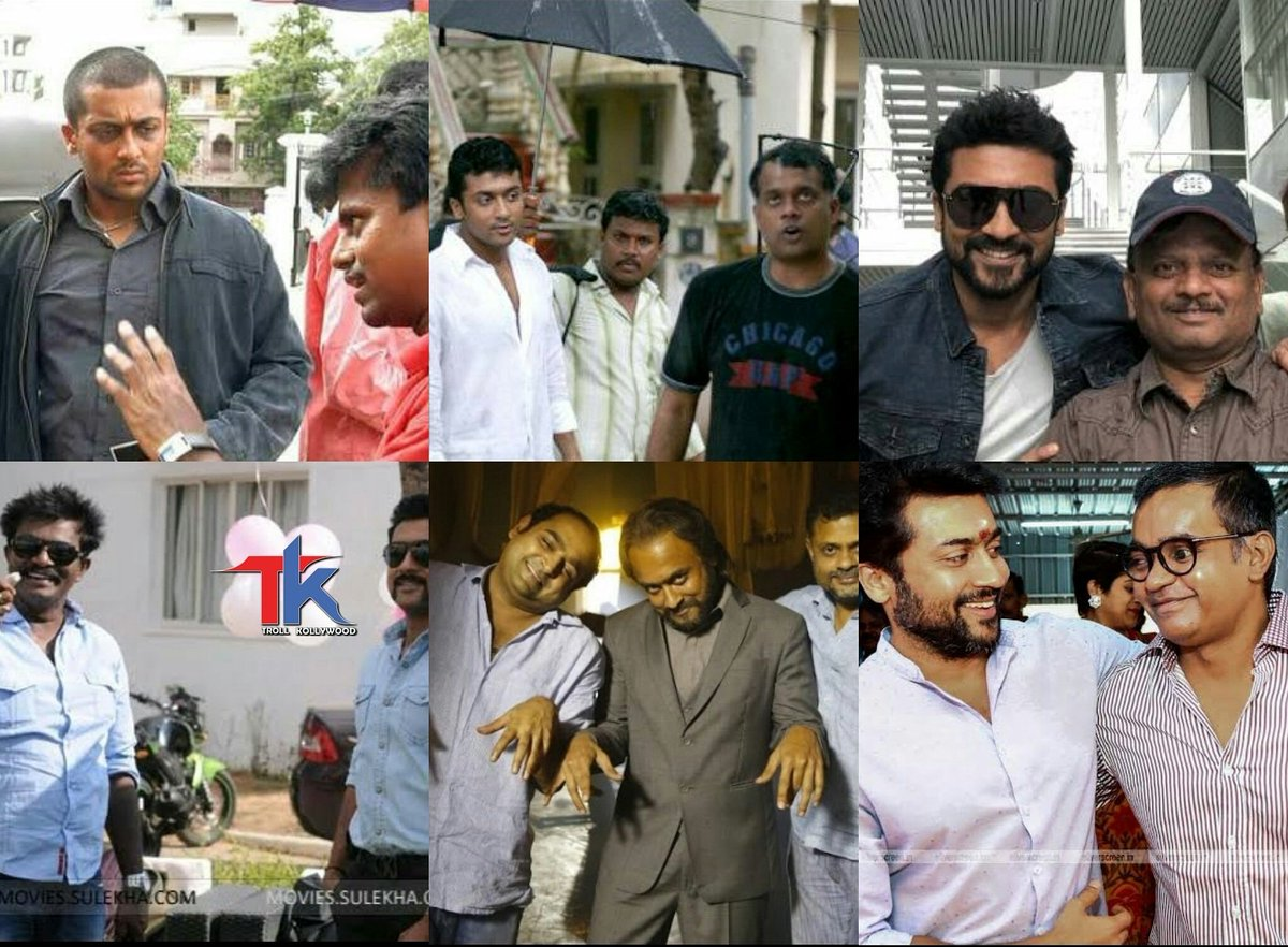 Different Directors !!  Different Style !! Different Genres !! one choice for atmost perfection    @Suriya_offl   Truly a Director's Delight <br>http://pic.twitter.com/gxtQlPdtZr