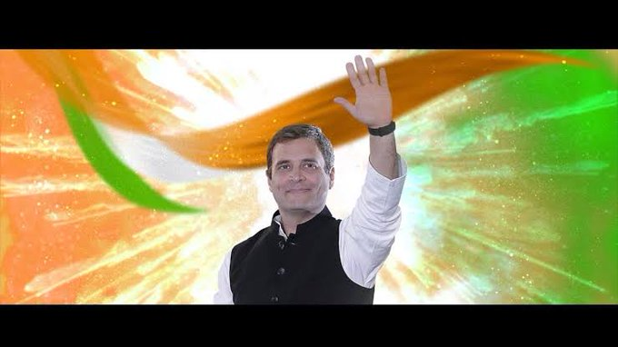 Happy birthday Rahul Gandhi ji A true leader.