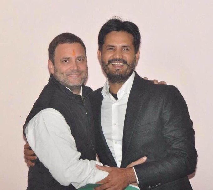 Wish you very happy birthday to sh Rahul Gandhi ji