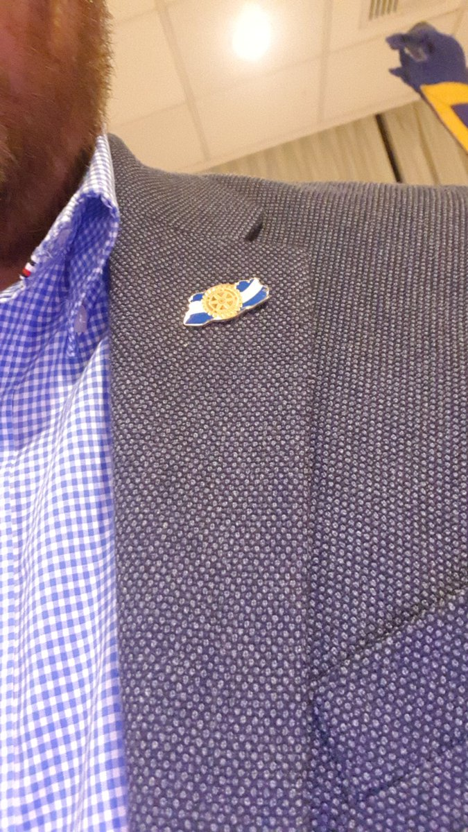 Nuevo Pin! #rotary #crssc #rotarioselsalvador