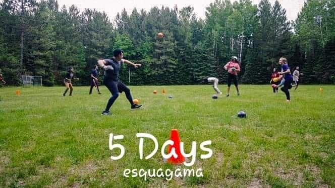 The trenches have been made and balls have been thrown! \ / \ / #trenchball #campactivities #camplife #summercamp #campesquagama #summer2k19 #minnesota #overnightcamp #2k19 #campers #usasummercamp #allthingscamp #summervibes #campcounselor #daycamp #summercountdown