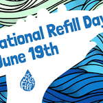 Image for the Tweet beginning: Its #NationalRefillDay, be a part