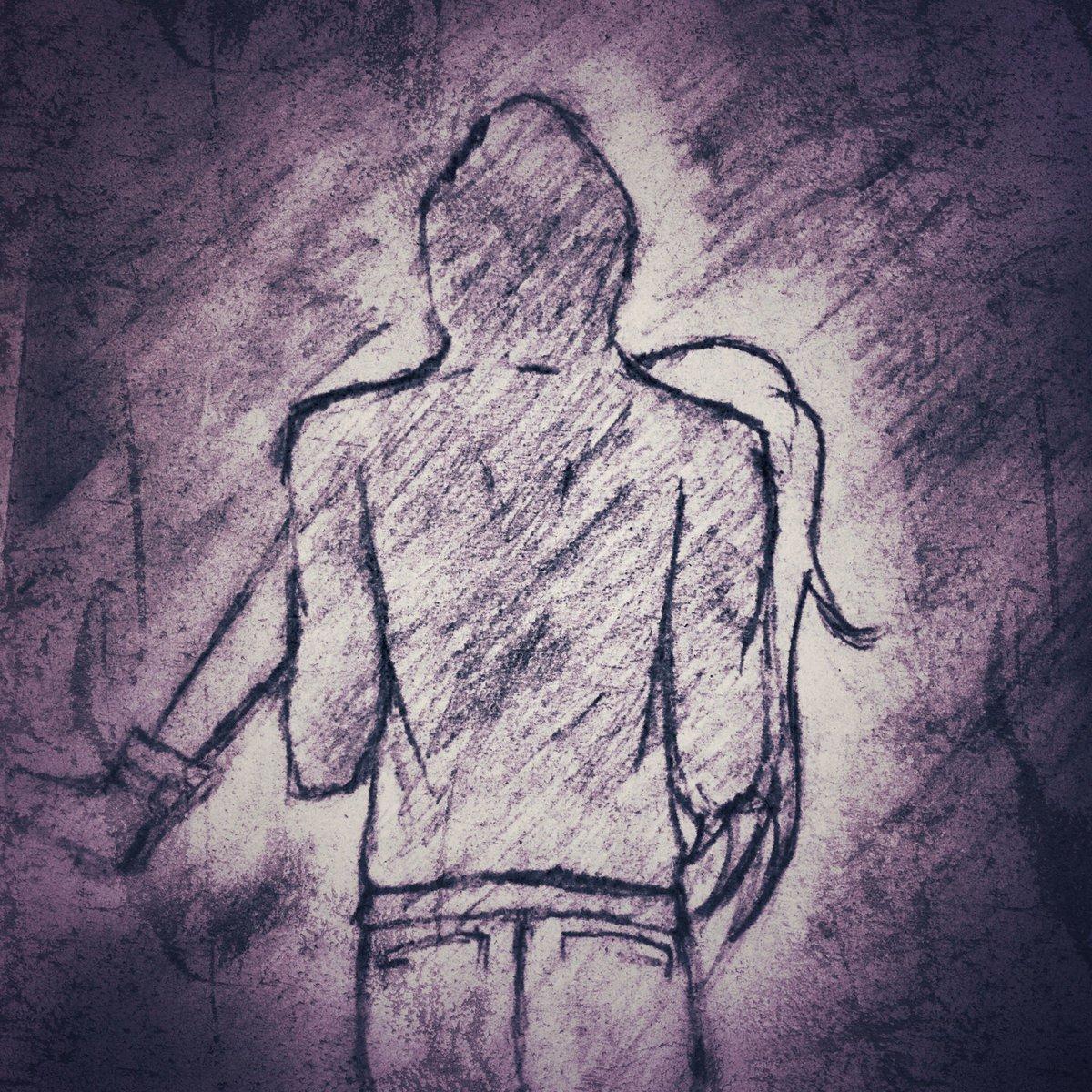 Ugh, late upload. 😖😖 #zackxray #angelsofdeath #satsurikunotenshi #drawing #ザックレイ #ザック #レイ #殺戮の天使