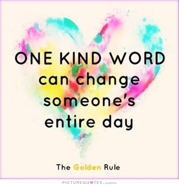 One kind word can change someone's entire day 🙌💖#bekind #WednesdayWisdom #WednesdayMotivation
