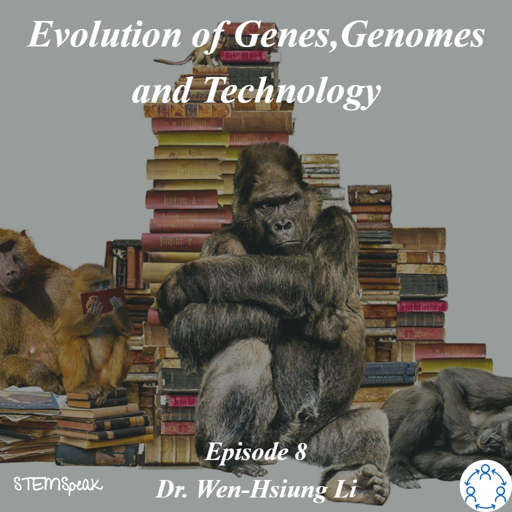 http://bit.ly/2IWSNNT  🙌 Hey everyone check out our new episode 📲 🎧🎙 Evolution of Genes, Genomes and Technology with Dr Wen-Hsiung Li @OfficialSMBE #Evolution #Genetics #Genomics #Biodiversity #BRC #AcademiaSinica #MolecularEvolution #EvolutionaryGenomics #STEMSpeak #Podcast