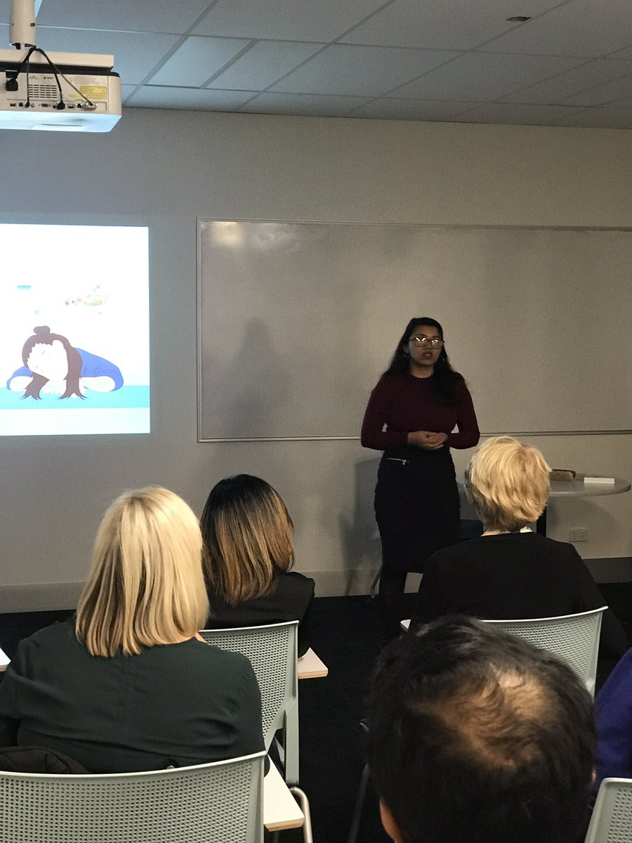 Fantastic work @MonikaShresthaa who presented her PhD at today's School of Nursing and Midwifery's @3MT_Official! #3MT @LTUresearchers #PhDchat