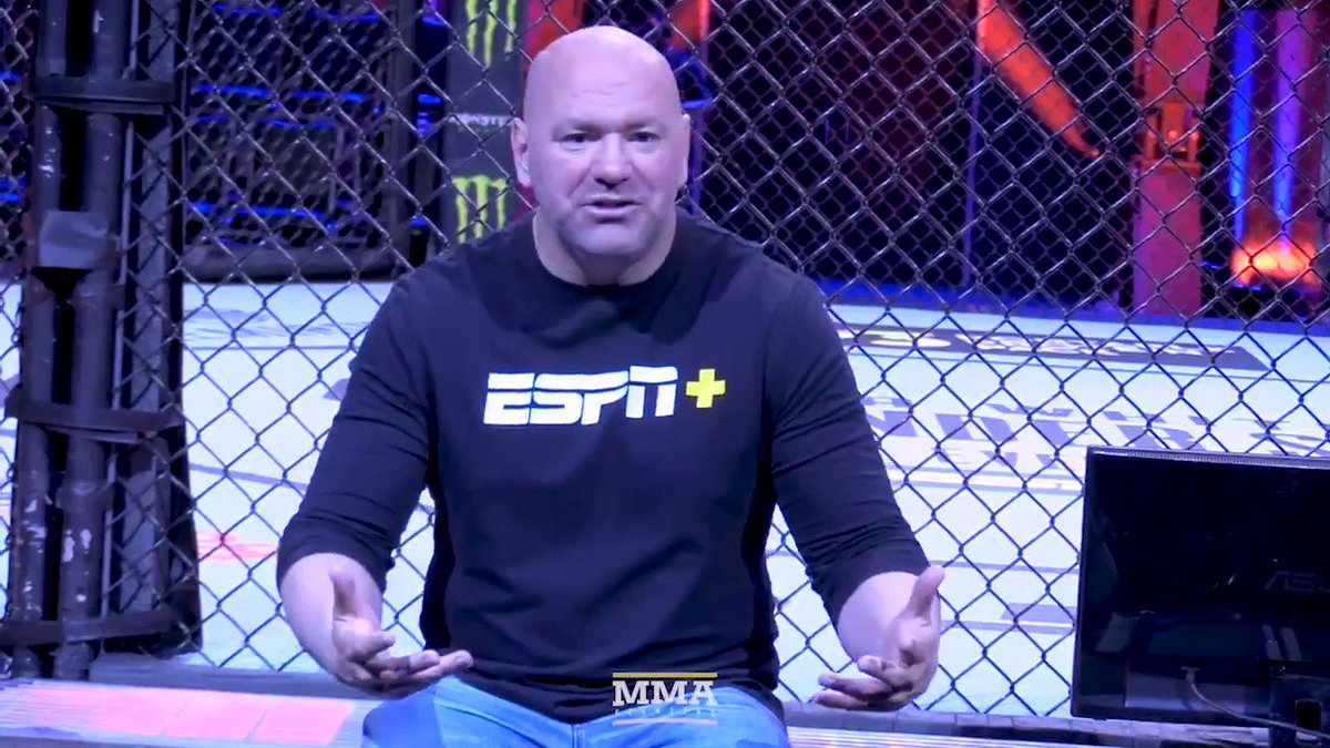 """UFC President @DanaWhite is working on getting into boxing promotion:  """"We'll see if I can pull this sh*t together, and make these kind of things happen. That's my goal.""""  Watch full video: https://youtu.be/ba2koTDFCcY"""