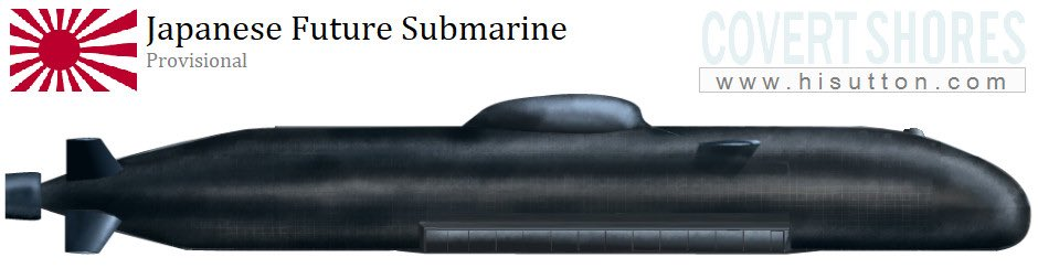 New article: Japans slick new #submarine design is probably designed around very advanced lithium-ion battery technology. Link hisutton.com/JMSDF_Future_S… #Japan #navy #china