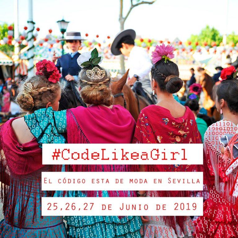#FelizLunes  👩💻¿Eres estudiante entre 14 y 18 años y te interesa el mundo de la #programación? 💻 ¡Apúntate a #CodeLikeAGirl !  🗓 Días 25 al 27 de junio en #Sevilla  👉Infórmate aquí: https://bit.ly/2IGrTJG