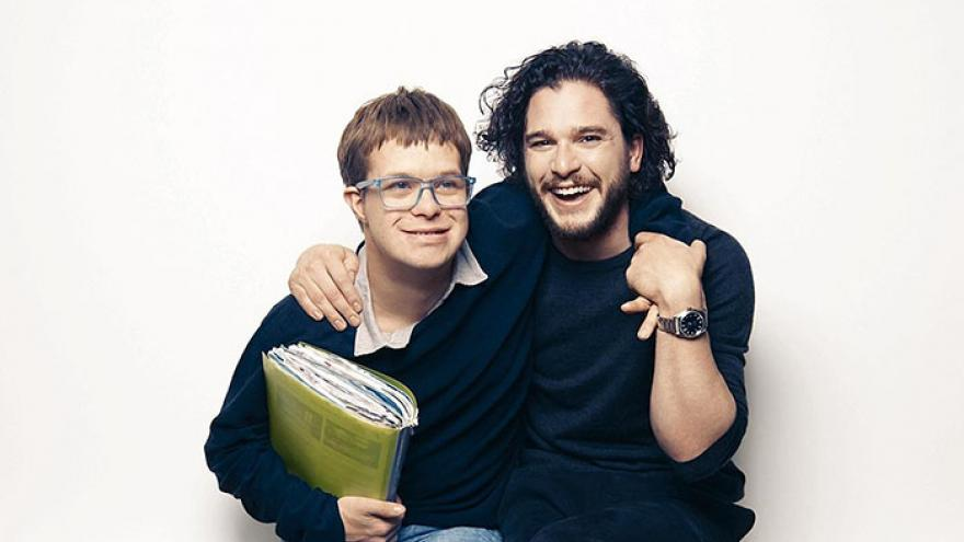 This donations page lifted my heart and brought tears to my eyes, what a beautiful gift to receive....how generous of all of you. Read a lovely message from #KitHarington to those who donated to us in recognition of his work on #GameofThrones. #GoTtoGive mencap.org.uk/thank-you-from…