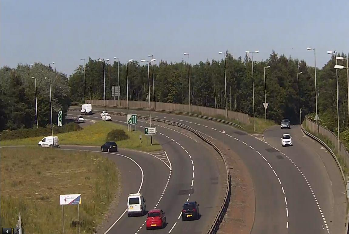 test Twitter Media - *NEW* ❗️⌚️16:31  #A725 southbound Bellshill Bypass from #M8 to #M74 - road is closed ⛔️due to a serious RTC involving a HGV and 2 cars Traffic heavily queuing back on to the #M8   #Avoid  #GlasgowTraffic @RadioClydeNews https://t.co/KPpMO6qHLk