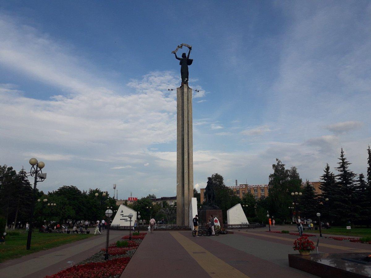 Площадь победы калуга картинка